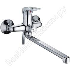 Смеситель для ванны ledeme картридж диаметр 35 мм, длинный излив l30f, дивертор в корпусе l2237 65679