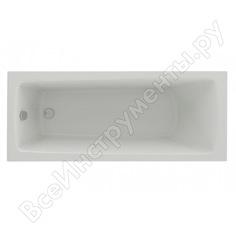 Ванна aquatek либра new 170х70 см, пустая, с фронтальным экраном, слив справа 00000065018