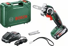 Аккумуляторная мини-цепная пила Bosch