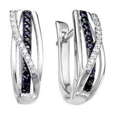 Золотые серьги Серьги Vesna jewelry 21053-256-03-00