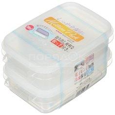 Контейнер пищевой пластмассовый Yamada, 2 шт, 0.38 л