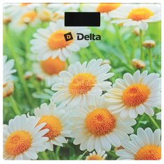 Весы напольные Delta Ромашковое поле D-9220 до 150 кг Дельта