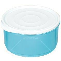 Контейнер пищевой пластмассовый Berossi Lana голубая лагуна ИК 47547000, 1.6 л