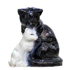 Копилка Кошка с котёнком 275