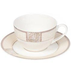 Чайная пара из фарфора Fioretta Dynasty TDS086, 220 мл