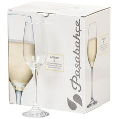 Бокал для вина Pasabahce Amber 440295B, 6 шт, 210 мл