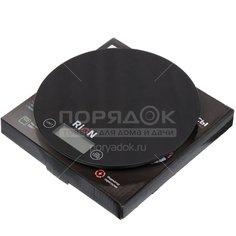 Весы кухонные электронные Rion PT-812 черные до 5 кг