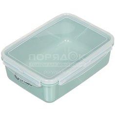 Контейнер пищевой пластмассовый Idea Фреш М 1424 салатовый, 1.4 л