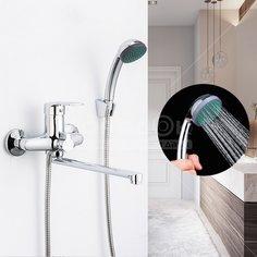 Смеситель для ванны Frap F22701-B хром с керамическим картриджем