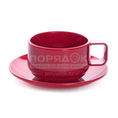 Чайная пара из пластмассы П-4-4-1ТХ, 280 мл