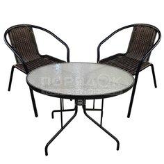 Мебель садовая Марсель мини (стол 60 см, стул 2 шт) WR2719 WR1208-МТ002