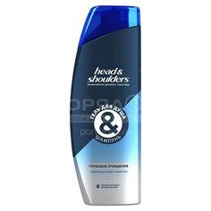 Гель для душа Head & Shoulders Глубокое очищение 2в1 для мужчин, 360 мл