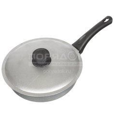Сковорода алюминиевая Биол А223 с рышкой, 22 см