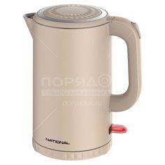 Чайник электрический металлический National NK-KE17544, 1.7 л, 2.2 кВт