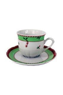 Чашка с блюдцем 150 мм Thun1794