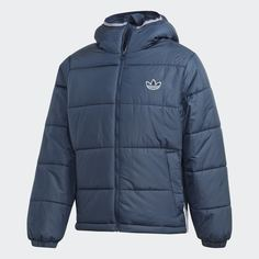 Утепленная куртка Hooded Puffer adidas Originals