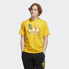 Футболка Streetball Trefoil adidas Originals