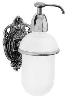 Дозатор жидкого мыла с держателем хром Art&Max Impero AM-1705-Cr