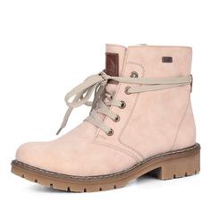 Ботинки Розовые ботинки из экокожи Rieker