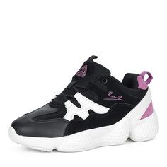 Кроссовки Черно-белые кроссовки на утолщенной подошве Respect