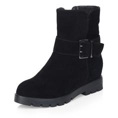 Ботинки Черные ботинки с широким ремешком Respect