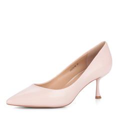 Туфли Бежевые туфли-лодочки из кожи Corso Como