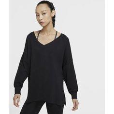 Женский флисовый свитер Nike Yoga