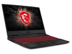 Ноутбук MSI GL65 Leopard 10SCSR-019XRU Black 9S7-16U822-019 (Intel Core i7-10750H 2.6 GHz/8192Mb/1000Gb + 128Gb SSD/nVidia GeForce GTX 1650Ti 4096Mb/Wi-Fi/Bluetooth/Cam/15.6/1920x1080/DOS)