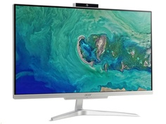Моноблок Acer Aspire C22-320 Silver DQ.BBHER.007 (AMD A9-9425 3.1 GHz/4096Mb/1000Gb/AMD Radeon R5/Wi-Fi/Bluetooth/21.5/1920x1080/Endless OS)