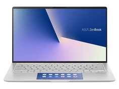 Ноутбук ASUS Zenbook UX434FAC-A6313R 90NB0MQ8-M05460 (Intel Core i7-10510U 1.8GHz/16384Mb/512Gb SSD/No ODD/Intel HD Graphic/Wi-Fi/Bluetooth/Cam/14.0/1920x1080/Windows 10 64-bit)