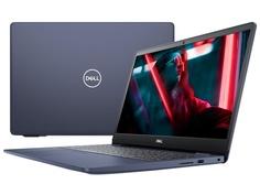Ноутбук Dell Inspiron 5593 Dark Blue 5593-2721 (Intel Core i3-1005G1 1.2 GHz/4096Mb/256Gb SSD/Intel HD Graphics/Wi-Fi/Bluetooth/Cam/15.6/1920x1080/Linux)