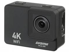 Экшн-камера Digma DiCam 800 Black DC800