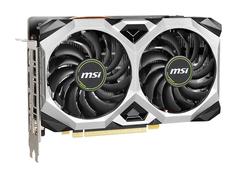 Видеокарта MSI GeForce GTX 1660 Super 1785Mhz PCI-E 3.0 6144Mb 14000Mhz 192 bit 3xDP HDMI HDCP GTX 1660 SUPER VENTUS XS