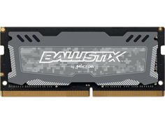 Модуль памяти Ballistix Sport LT DDR4 SO-DIMM 2666MHz PC-21300 CL16 - 4Gb BLS4G4S26BFSD