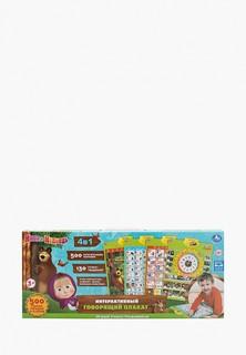 Игрушка интерактивная Умка Umka развивающая - говорящий плакат «Маша и Медведь»
