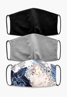 Маски для лица защитные 3 шт Стим с фильтрующим элементом