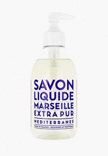 """Жидкое мыло Compagnie de Provence для тела и рук """"Средиземное море"""", 300 мл."""