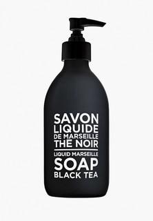 """Жидкое мыло Compagnie de Provence для тела и рук """"Черный чай"""", 300 мл."""