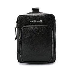 Сумки-мессенджеры Balenciaga Кожаная сумка-мессенджер Explorer Balenciaga