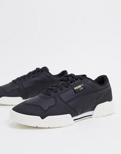 Черно-белые кроссовки Puma CGR performance-Черный