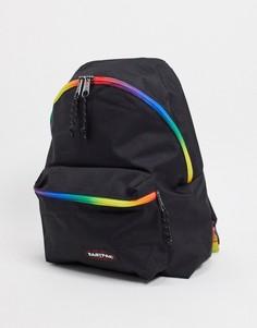 Черный уплотненный рюкзак Eastpak PakR