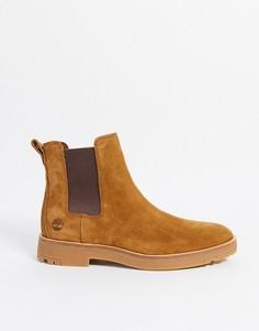 Бежевые ботинки челси Timberland-Бежевый