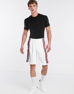 Белые баскетбольные шорты с логотипом Nike Air Jordan-Белый