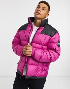 Фиолетовая дутая куртка The North Face-Фиолетовый