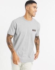 Серая футболка Napapijri-Серый