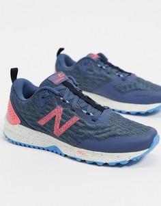 Серо-розовые кроссовки New Balance Running Nitrel v3 Trail-Серый