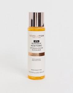 Тоник с 5% гликолевой кислоты Revolution Skincare,200 мл-Бесцветный