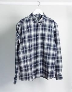 Темно-синяя рубашка в клетку Good For Nothing-Темно-синий