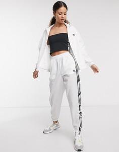 Белые спортивные брюки adidas Originals adicolor-Белый