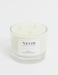 Ароматизированная свеча с 3 фитилями NEOM - Feel Refreshed-Бесцветный